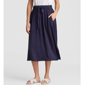 NWT Eileen Fisher Linen Flare Skirt